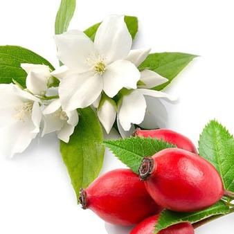 rosehips & jasmine