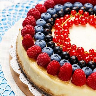 wild berry cheesecake