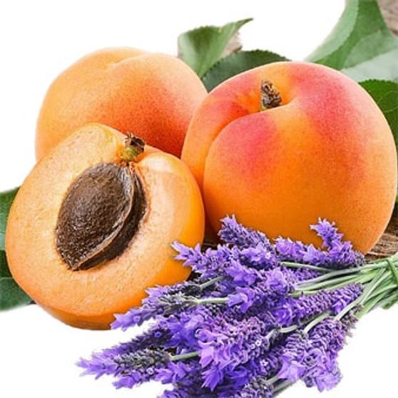 lavender apricot
