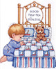 Design Works - Bedtime Prayer Boy Birth Record