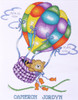 Design Works - Up, Up and Away Kitty Birth Record
