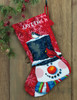 Dimensions - Snowman and Friends Stocking