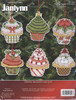 Janlynn - Christmas Cupcake Ornaments (6)