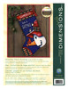 Dimensions -  Snowman Perch Stocking
