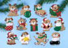 Design Works - Lots of Dogs Set of 13 Ornaments