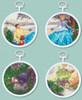 Kinkade / Disney ~ Cinderella Set of 4 Mini Kits