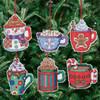 Janlynn - Christmas Cocoa Mugs Ornaments (6)