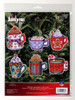 Janlynn - Christmas Cocoa Mugs Ornaments (6)