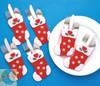 Design Works - 6 Stockings Silverware Pockets