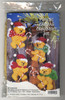Design Works - Set of 4 Candy Cane Bears Christmas Ornaments