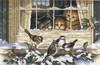 Dimensions - Three Bird Watchers