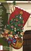 Plaid / Bucilla - Under The Tree Stocking