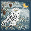 2014 Mill Hill Buttons & Beads Winter Series - Snowy Owl