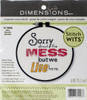 Dimensions 'Stitch Wits' - Mess