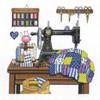 Janlynn - Antique Sewing Room