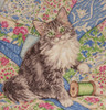 Design Works - Cat on Quilt
