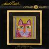 Mill Hill / Laurel Burch - Wild Pink Cat (LINEN)