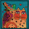 Mill Hill / Laurel Burch Feathered Friend (LINEN)