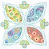 Dimensions - Four Petals Quilt Blocks (6)