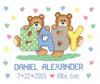 Janlynn - Teddy Baby Birth Announcement