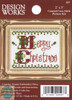 Design Works - Merry Christmas Picture Kit w/Frame