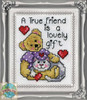 Design Works - True Friend Picture Kit with Frame