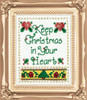 Design Works - Christmas In Your Heart Kit w/Frame
