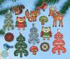 Design Works - Woodland Friends Ornaments (6)
