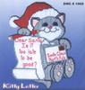 Design Works - Kitty Letter