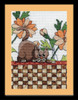 Design Works - Brown Checkered Cat