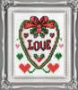 Design Works -  Love Picture Kit w/Frame