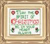 Design Works -  Spirit of Christmas Picture Kit w/Frame