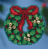Mill Hill 2016 Winter Holiday Collection - Jingle Bell Wreath Ornament