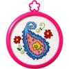Plaid / Bucilla - My 1st Stitch - Floral Paisley