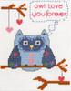 Plaid / Bucilla - My 1st Stitch - Owl Love You Forever