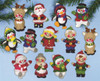 Design Works - Christmas Friends Ornaments