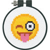 Dimensions Learn a Craft - Tongue Out Emoji
