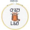 Dimensions 'Stitch Wits' - Crazy Cat Lady
