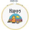 Dimensions 'Stitch Wits' - Happy Camper