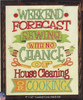 Design Works - Weekend Forcast