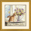 Gold Collection - Kitten in the Window