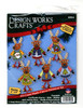 Design Works - Ugly Sweater Reindeer Ornament Set (6)