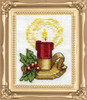 Design Works -  Candle Picture Kit w/Frame