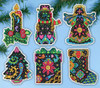 Design Works - Christmas Fantasy Ornament Set (6)