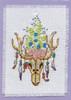 Design Works - Southwestern Skull Stitch & Mat