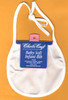 DMC Stitchable 14 count White Trim Baby Soft Infant Bib