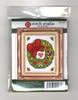 Design Works Stitch Studio - Wreath Picture Kit w/Frame