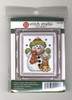 Design Works Stitch Studio -  Snowman Picture Kit w/Frame