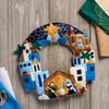 Plaid / Bucilla - Town of Bethlehem Wreath