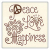 "Janlynn ""Simple Stitch"" - Peace, Love, Happiness"